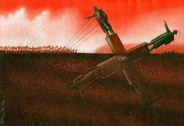 notre-monde-ne-tourne-plus-rond-des-illustrations-satiriques-denoncent-les-horreurs-de-la-societe-actuelle2