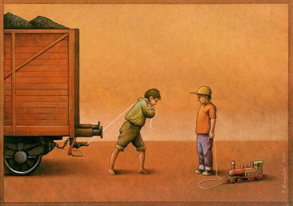 notre-monde-ne-tourne-plus-rond-des-illustrations-satiriques-denoncent-les-horreurs-de-la-societe-actuelle9